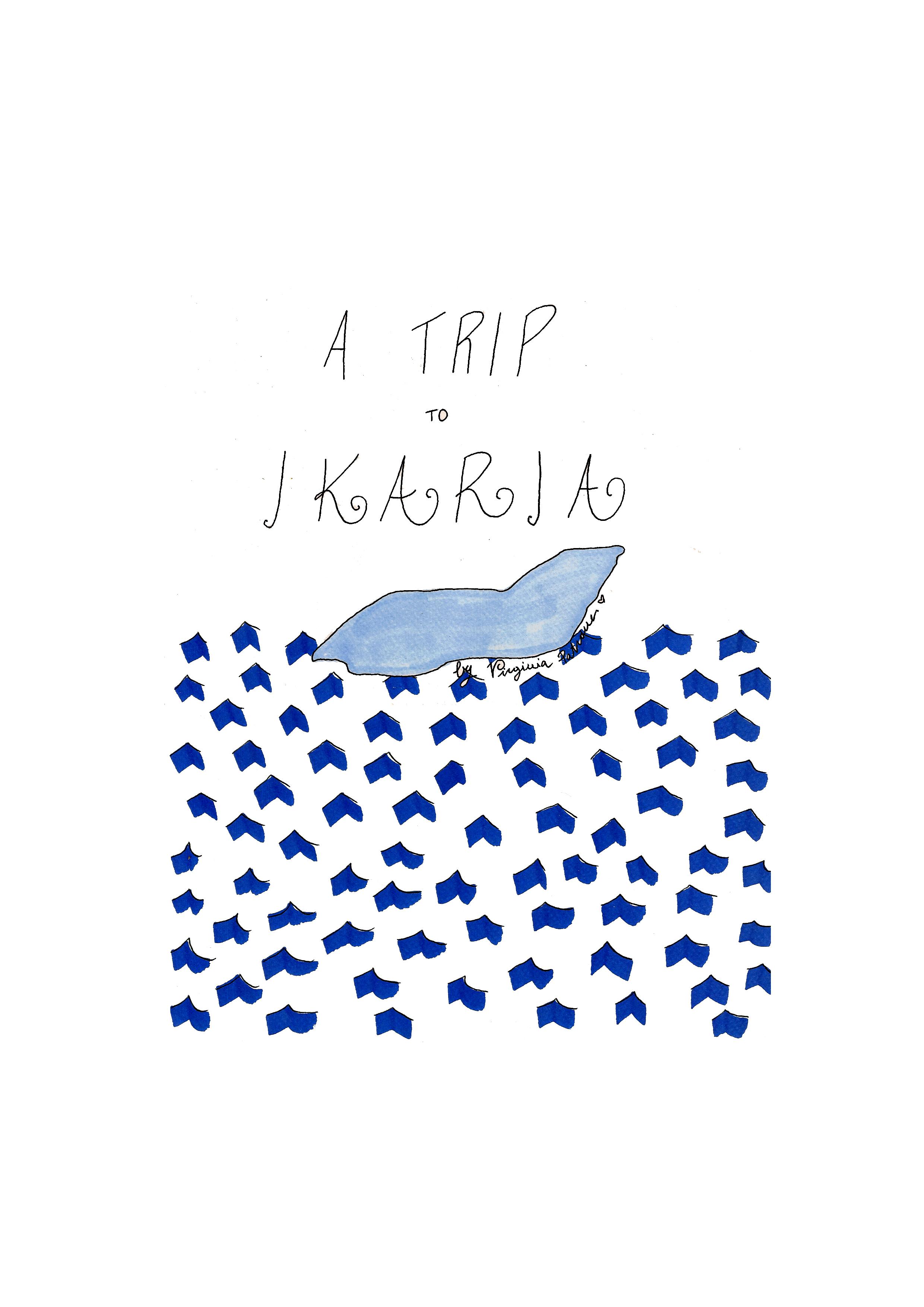 Cover_A trip to Ikaria by Virginia Elena Patrone