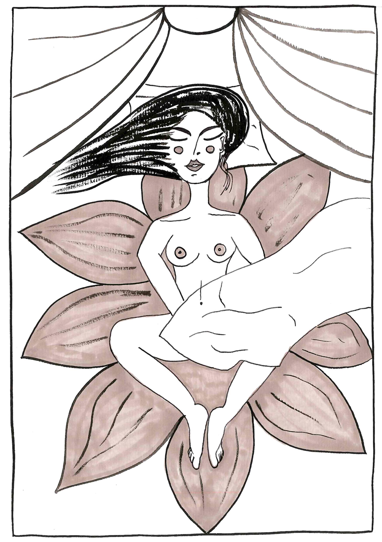 Masturbation_Josephine by Virginia Elena Patrone
