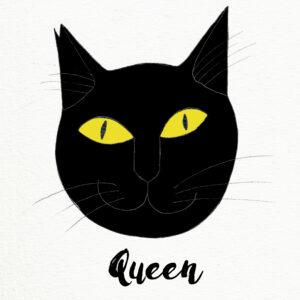 QueenTheCat_by Virginia Elena Patrone