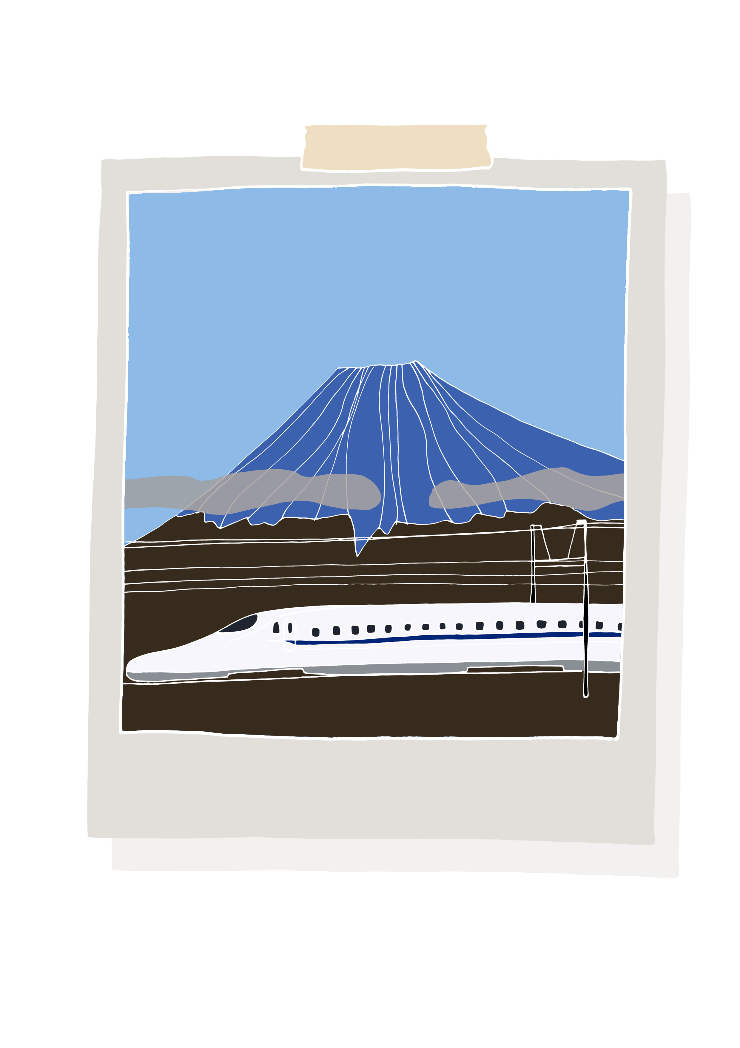 Ferroviaria_Shinkansen by Virginia Elena Patrone