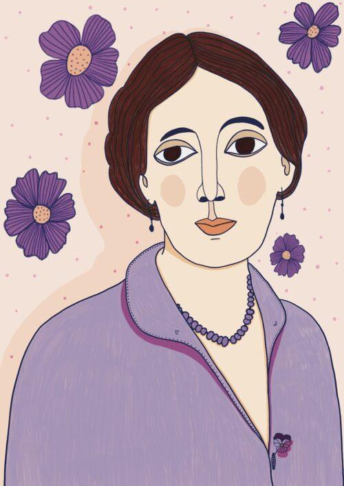 Virginia Woolf by Virginia Elena Patrone