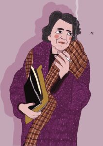 Alda Merini by Virginia Elena Patrone
