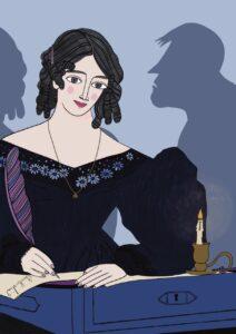 Mary Shelley by Virginia Elena Patrone