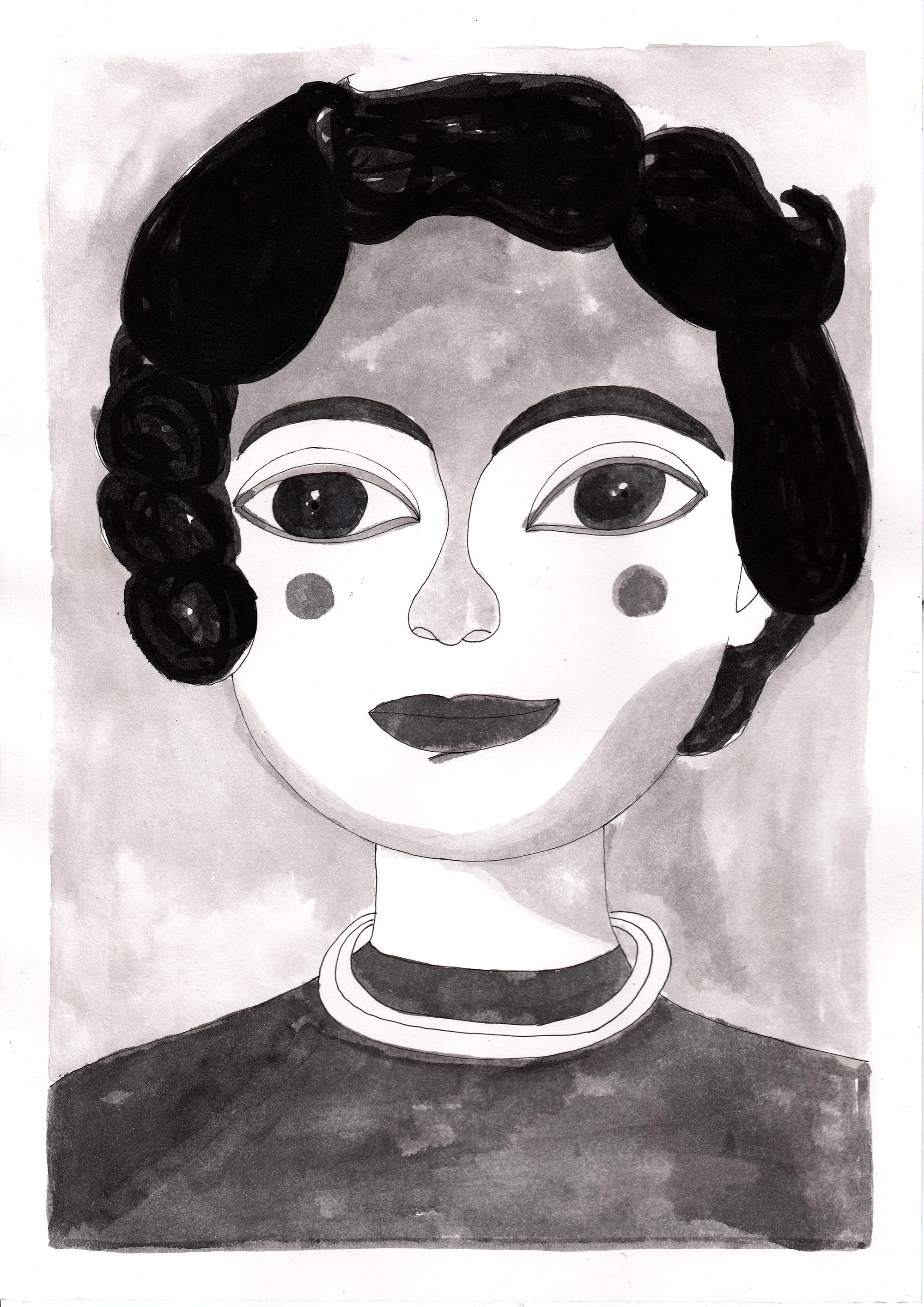Portrait of a woman_Vintage Memoire by Virginia Elena Patrone