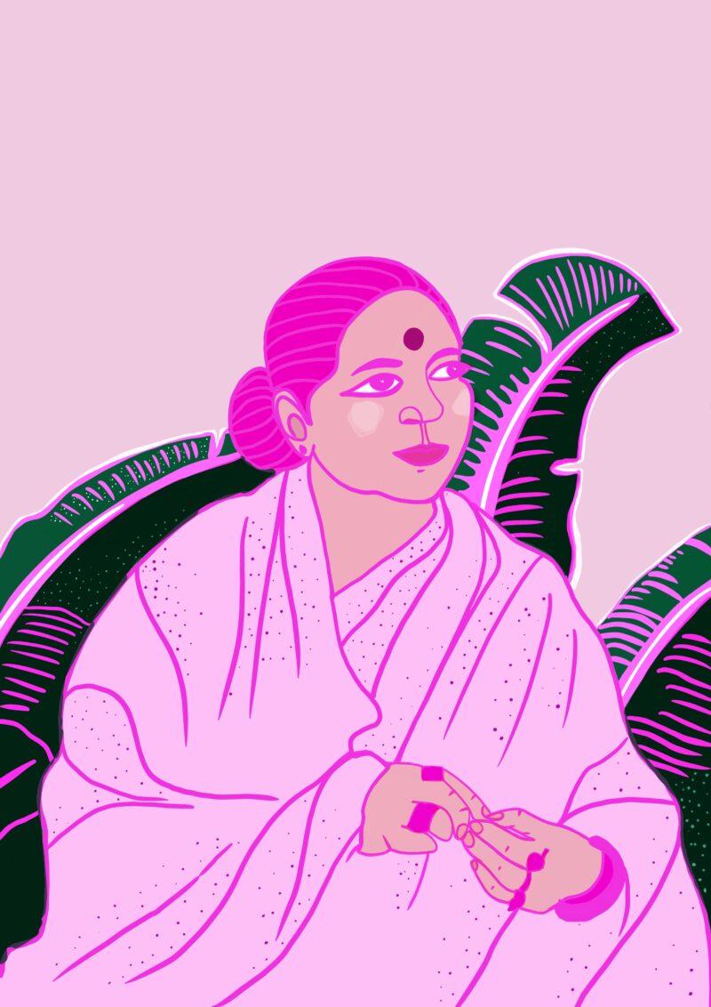 Vandana Shiva Portrait by Virginia Elena Patrone