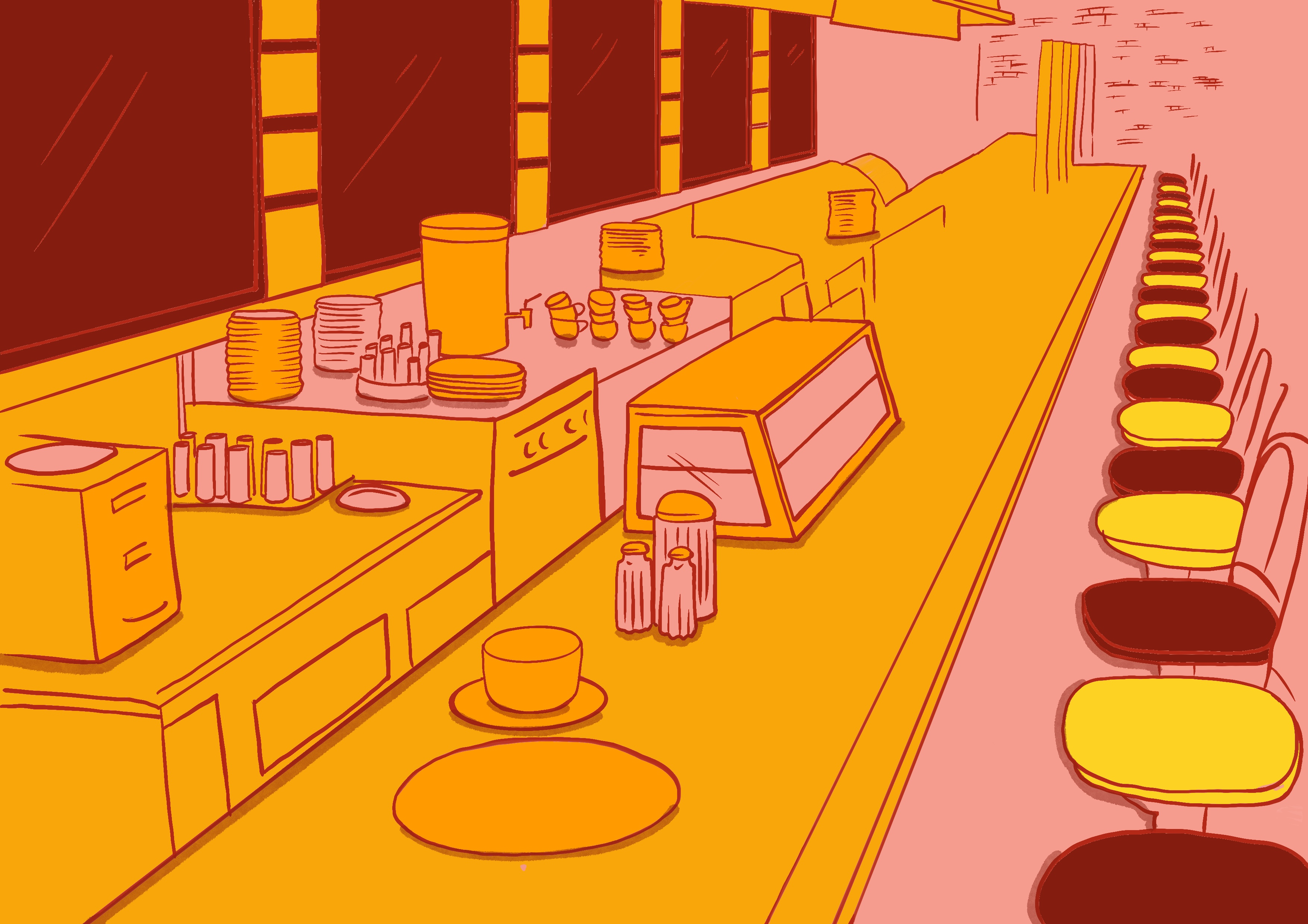 Protest_Woolworth_FoodCounter_by Virginia Elena Patrone