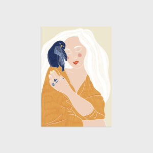 Owl&Woman by Virginia Elena Patrone