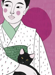 The cat and the woman_partial_by Virginia Elena Patrone